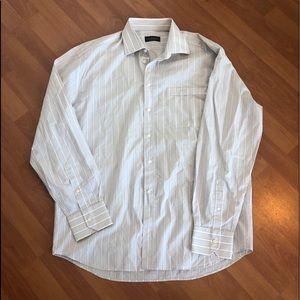 Canali Italian Dress Shirt Size 43/17